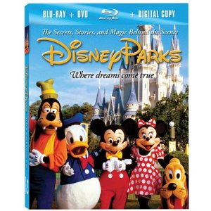 Aaron Wallace reviews Disney Parks: The Secrets, Stories, and Magic Behind the Scenes on Blu-ray + DVD + Digital Copy combo pack at DVDizzy.com