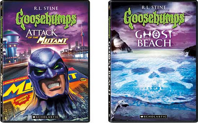 """Reviews: """"Goosebumps"""" - 'Ghost Beach' and 'Attack of the ... Goosebumps Ghost Beach Dvd"""