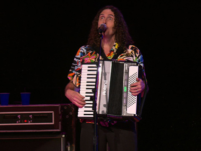 "Aaron Wallace review""Weird Al"" Yankovic: Live! - The Alpocalypse Tour on Blu-ray at DVDizzy.com"