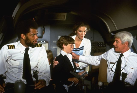 Aaron Wallace reviews Airplane! on Blu-ray at DVDizzy.com