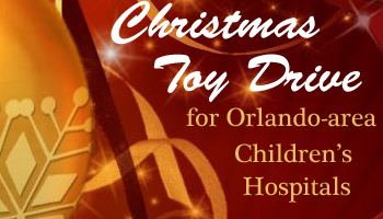 Zip-A-Dee-Doo-Pod Co-Sponsors Christmas Toy Drive for Orlando-area Children's Hospitals