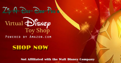 Zip-A-Dee-Doo-Pod's Virtual Disney Toy Shop for Christmas Children's Hospital Toy Drive (Not Affiliated with Walt Disney Company)