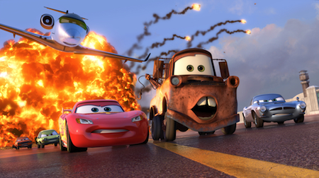 Aaron Wallace, author of Disney book 'The Thinking Fan's Guide to Walt Disney World: Magic Kingdom' and film critic, ranks the best Disney / Pixar movies. Here: Cars 2