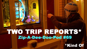 Aaron Wallace welcomes Kyle Burbank of The Disneyland Gazette to Zip-A-Dee-Doo-Pod for TWO Walt Disney World Trip Reports (plus recent news) in Episode 69!