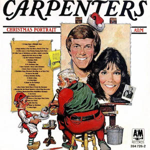 carpenters christmas portrait frontal - Best Christmas Albums Of All Time