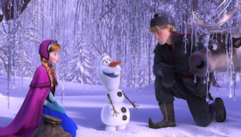 Disney's Frozen Movie Review by Disney book author Aaron Wallace
