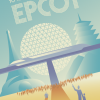 The Thinking Fan's Guide to Walt Disney World: Epcot, book by Aaron Wallace