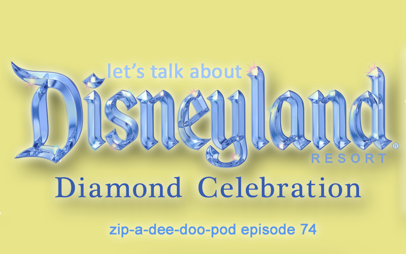 On the heels of Disneyland's 60th Anniversary Diamond Celebration, Disney book author Aaron Wallace looks at his trips there AND announces a new Hocus Pocus book. (Zip-A-Dee-Doo-Pod, a Disney podcast, episode #74)