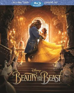 Beauty and the Beast (2017): Blu-ray + DVD + Digital Copy. Giveaway opportunity from Zip-A-Dee-Doo-Pod, the web's longest-running Disney podcast.