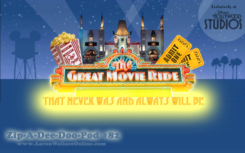 The Great Movie Ride That Never Was and Always Will Be... hear the classic attraction recreated using audio from the actual films.