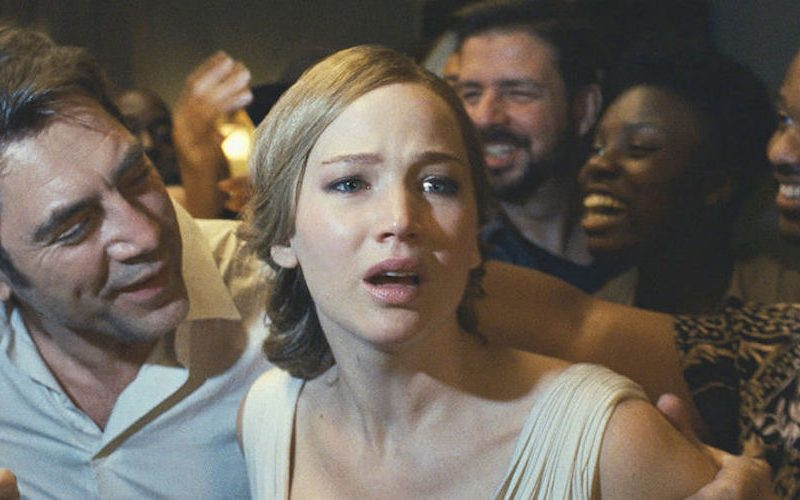 mother! (2017) movie review by Disney book author Aaron Wallace