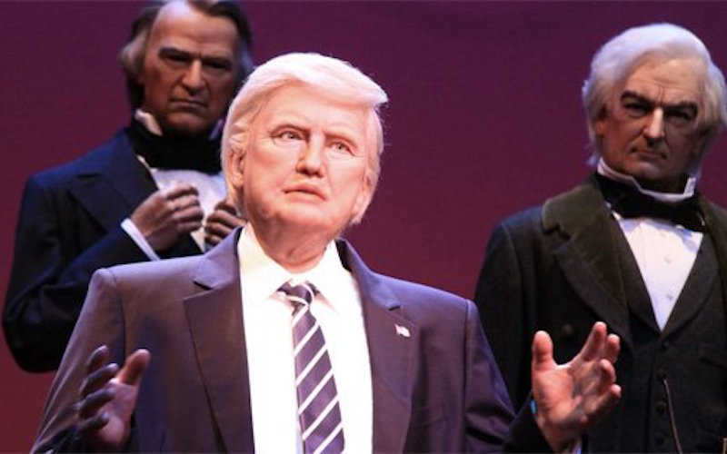 13 People Who Look More Like Disney's Donald Trump Animatronic Than Donald Trump Does